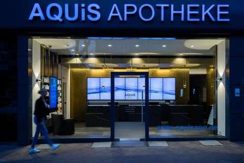 Apotheke Aquis, Aachen  / Architekt C. Palm, Köln