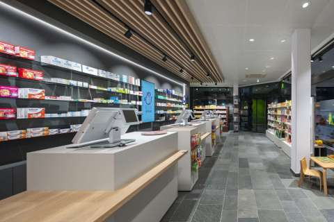 Rosen Apotheke, Hürth | Architekt Carl E. Palm