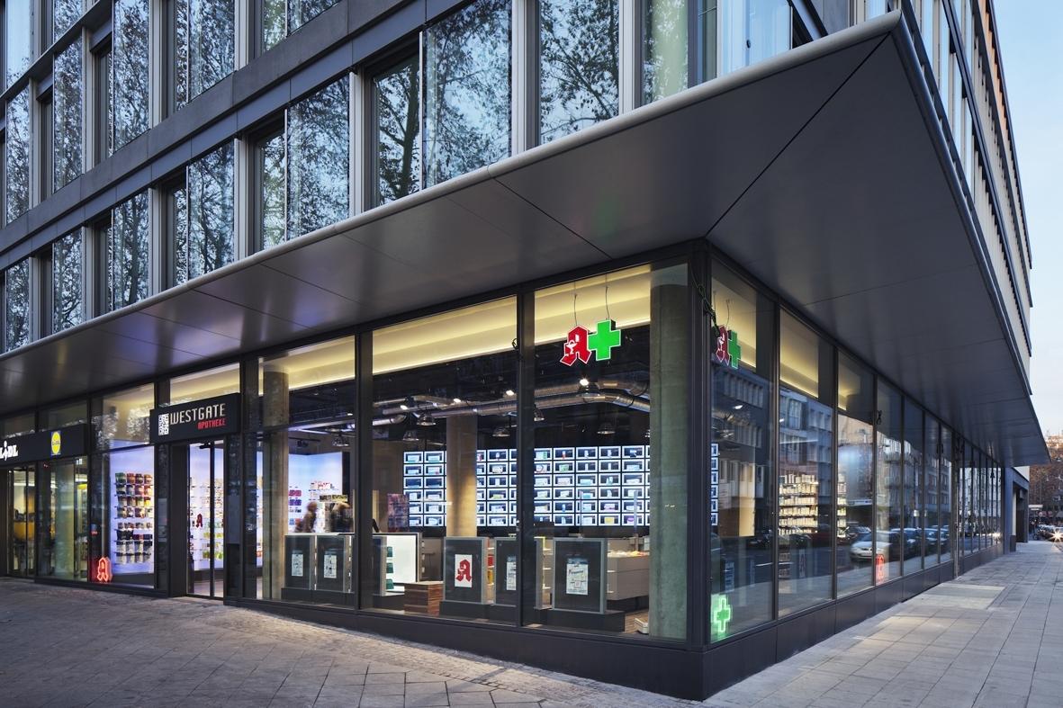 Architekt Carl E. Palm | Westgate Apotheke Köln
